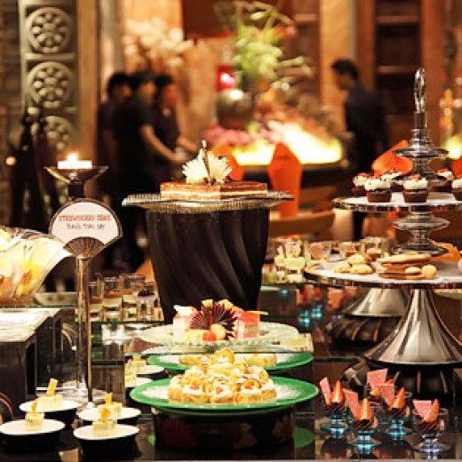 Buffet hải sản tại nhà hàng Cham Charm