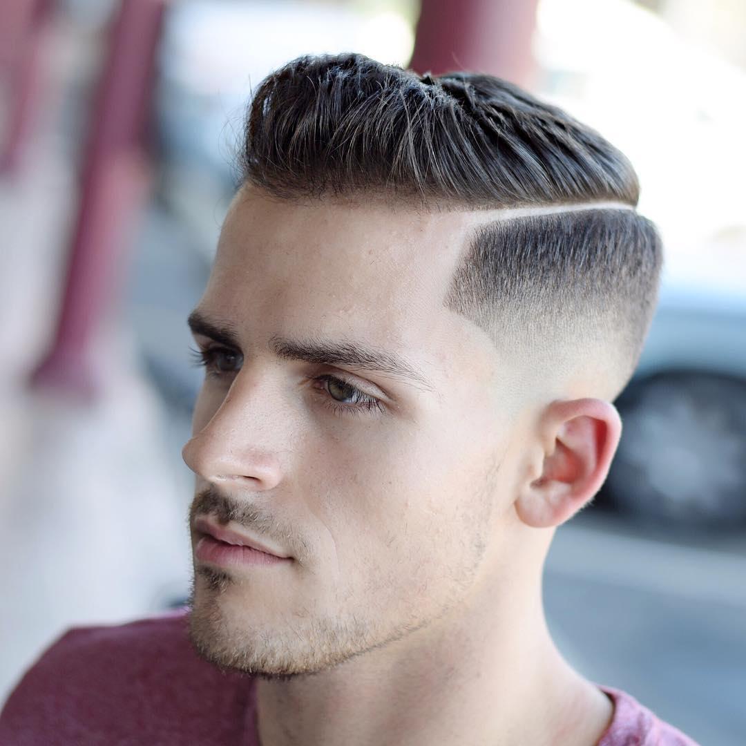 Các kiểu tóc nam đơn giản - side part