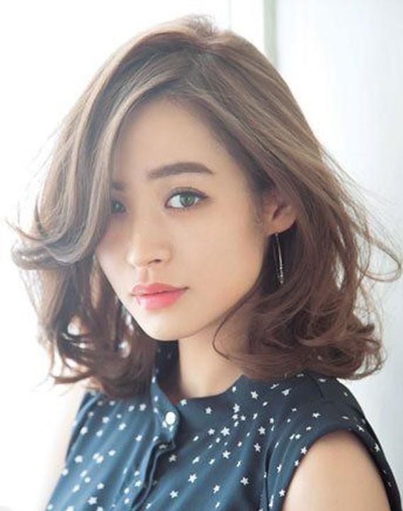 Kiểu tóc đẹp dành cho khuôn mặt vuông