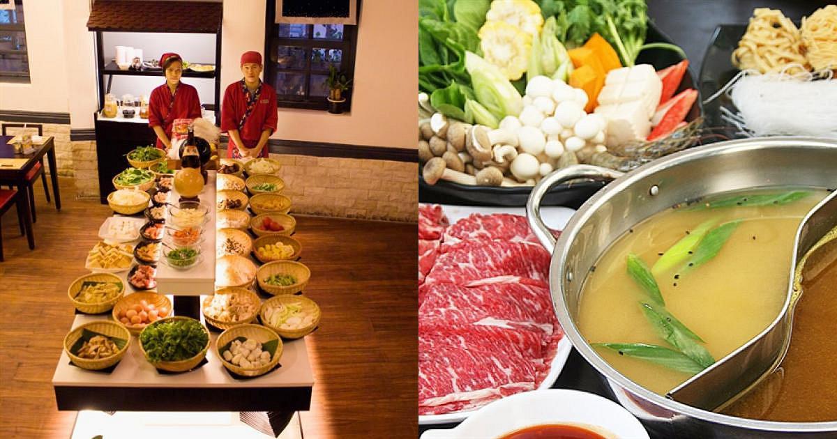 Buffet lẩu Nhật tại Gyu Jin