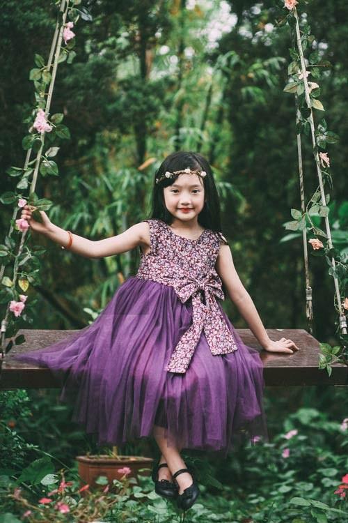 Cho những công chúa theo mẹ lên rừng