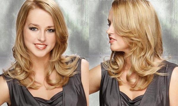 Kiểu tóc đẹp dành cho khuôn mặt hình trái tim