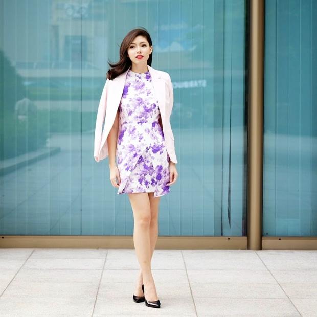 Diện Váy Họa Tiết Xinh Yêu Cho Ngày Nắng Thu Thêm Đẹp