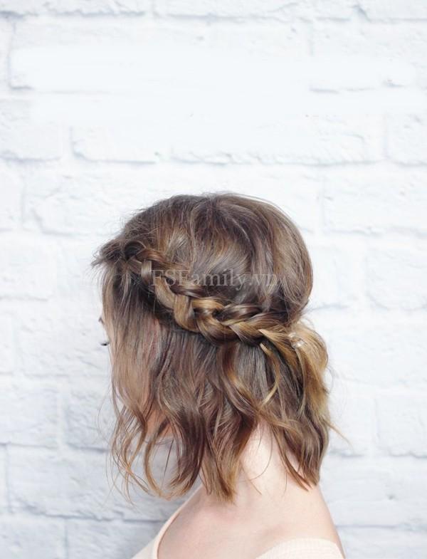 6 kiểu tóc tự làm đơn giản dễ thực hiện dành cho đi tiệc hoặc đi làm