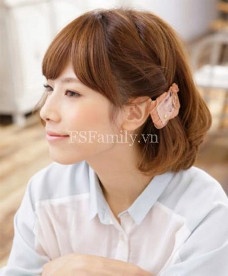 Biến tấu với mái tóc ngắn thành nhiều kiểu đẹp và đáng yêu cho bạn nữ tự tin khoe sắc