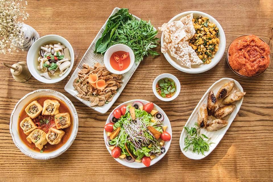Tổng hợp danh sách 5 nhà hàng buffet chay Hà Nội có giá chỉ từ 50k