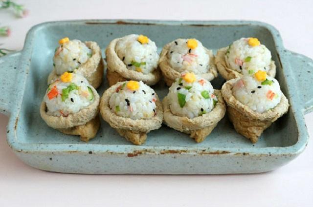 sushi dau hu chay 3