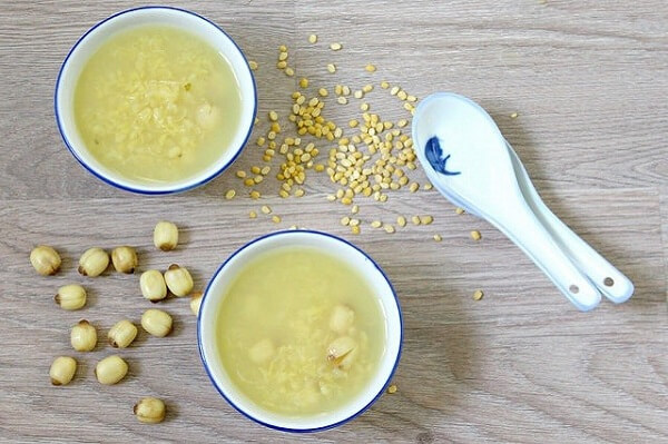 Món chè đậu xanh hạt sen thực hiện đơn giản và nhanh chóng