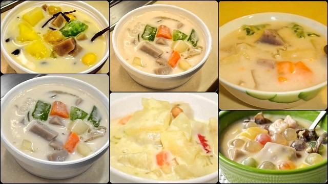 Chia sẻ cách nấu của 2 món chè chay mè rang cốt dừa và chè kiểm