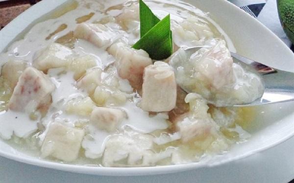 Cách nấu món chè khoai môn bằng gạo nếp thơm dẻo