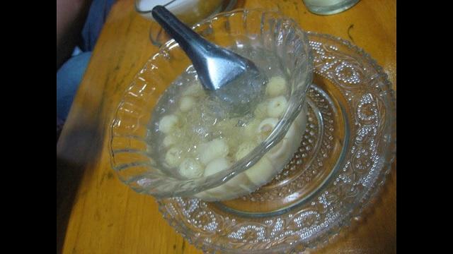 Chè bột sắn hạt sen- Món chè cho người tiểu đường đơn giản dễ làm