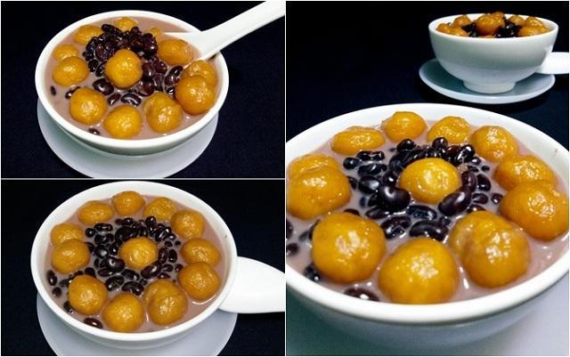 Thưởng thức món chè bí đỏ đậu đen thơm ngon, bổ dưỡng