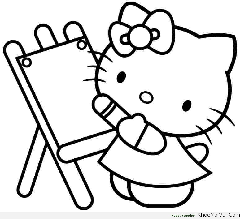 tranh-ve-hello-kitty