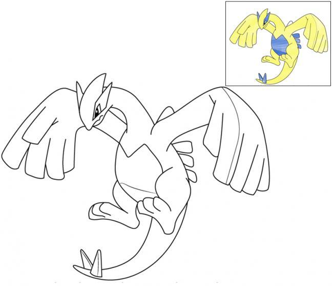 tranh-to-mau-pokemon-lugia