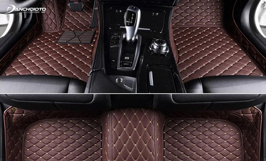 Thảm lót sàn ô tô 6D vừa đẹp, vừa bền lại an toàn khi sử dụng