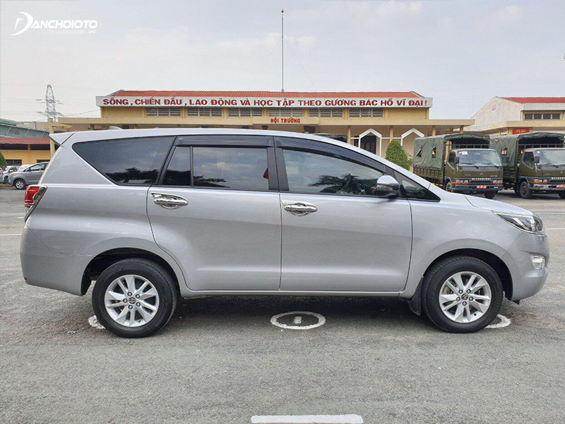 Xe oto Toyota Innova 2016 vận hành bền bỉ và ít hư hỏng