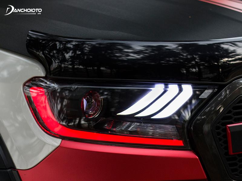 Chiếc xe Ford Ranger độ gây ấn tượng với mọi người ngay từ cái nhìn đầu tiên