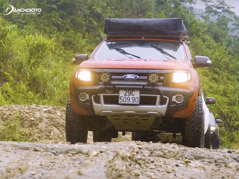 Ford Ranger có khả năng offroad rất tốt