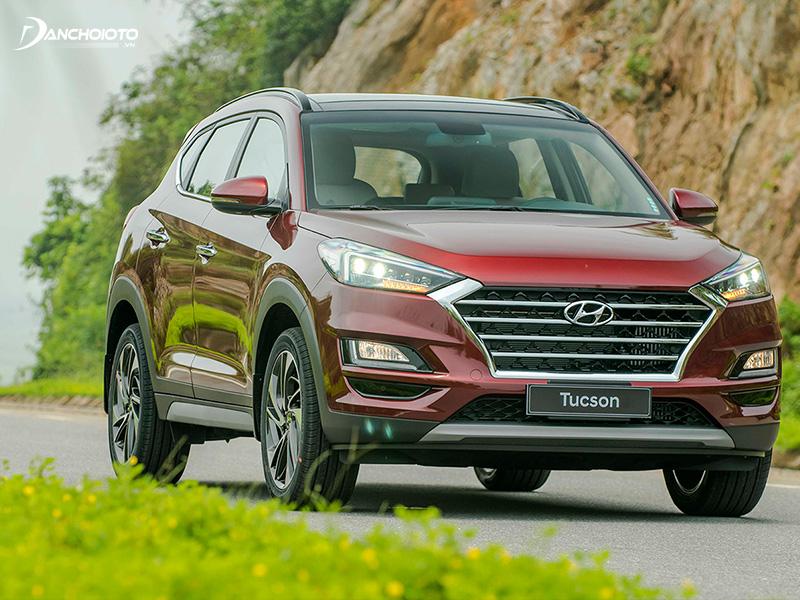 Hyundai Tucson sở hữu nhiều trang bị cHyundai Tucson sở hữu nhiều trang bị công nghệ hiện đạiông nghệ hiện đại