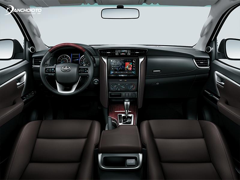"""Nội thất Toyota Fortuner mới """"vừa đủ sang"""" để đem đến những trải nghiệm tốt nhất"""